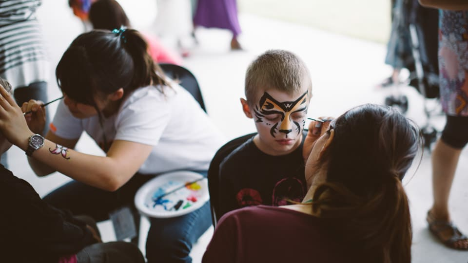 C4K Community Event Facepainting