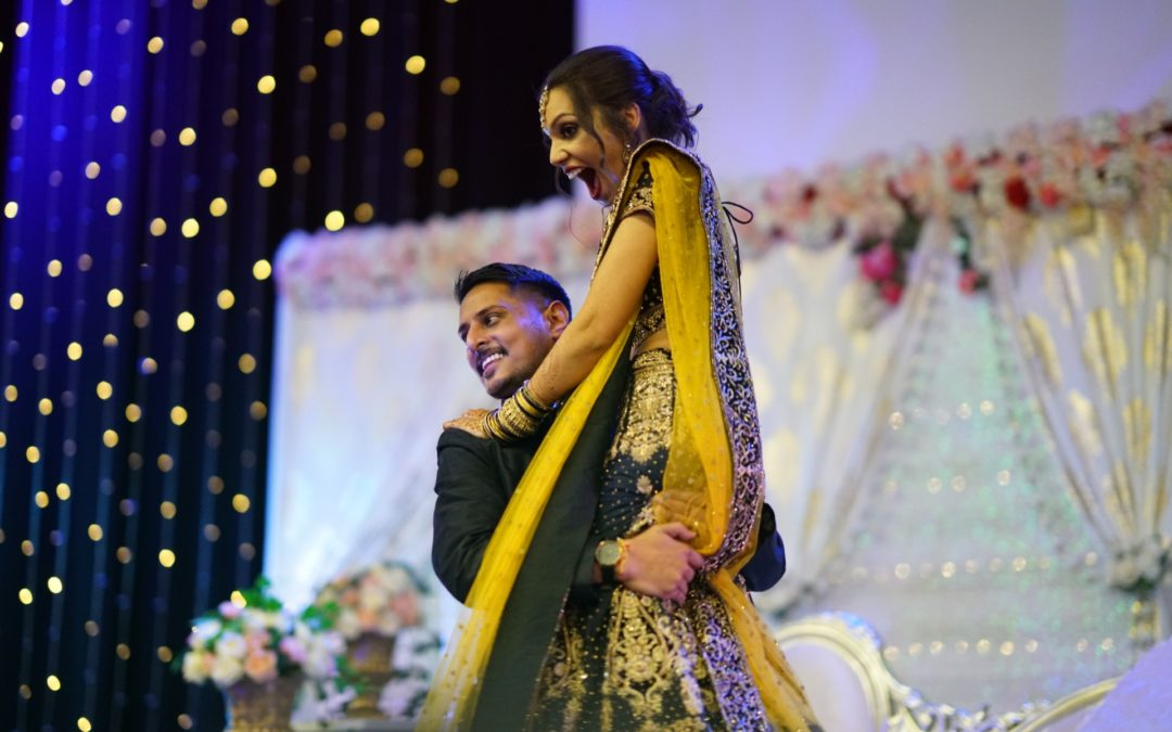 Dance the night away at Karishma & Pranesh's Wedding Reception